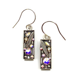 FIREFLY LA DOLCE VITA CRYSTAL LEAF EARRINGS