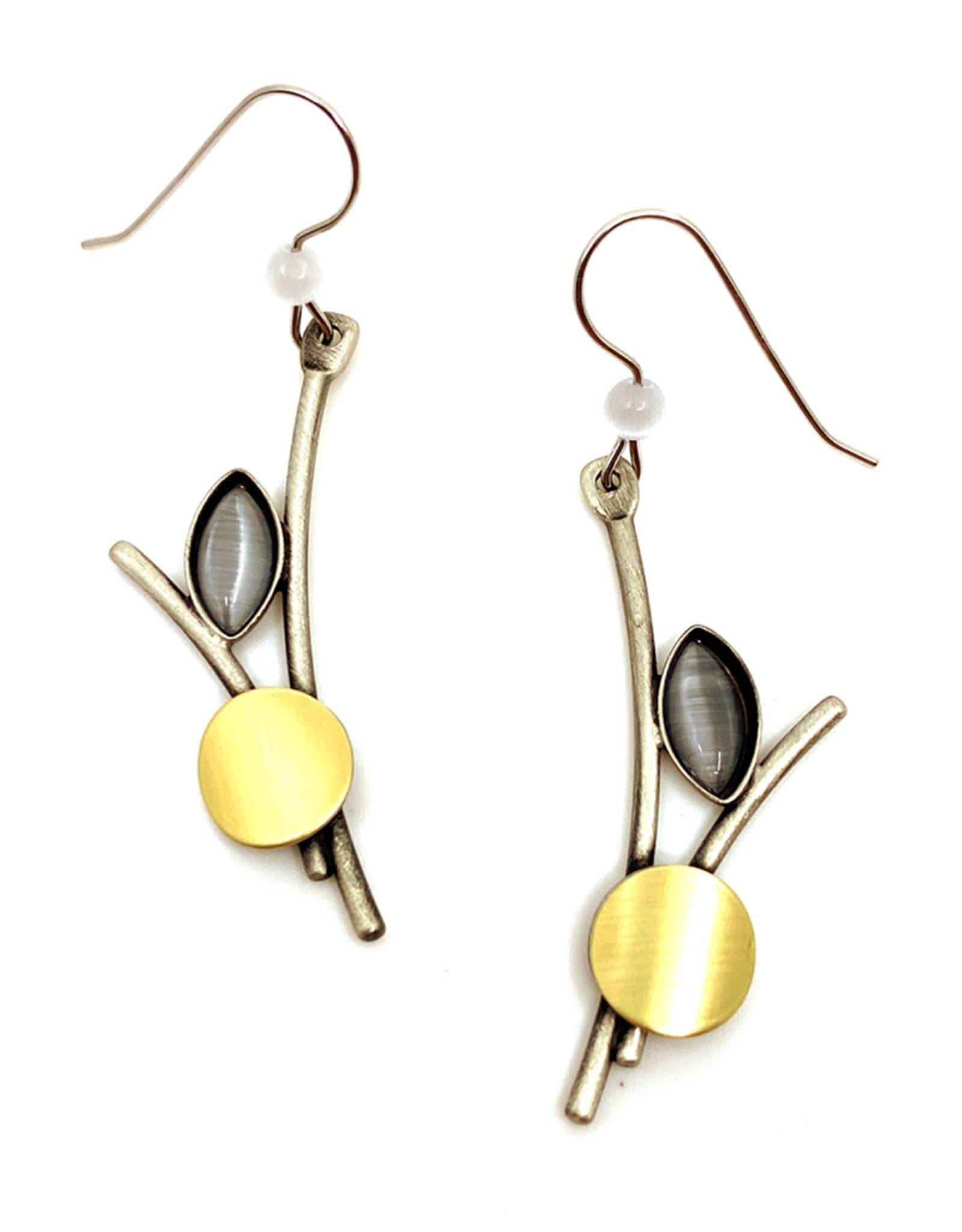 CHRISTOPHE POLY ABSTRACT RODS EARRINGS