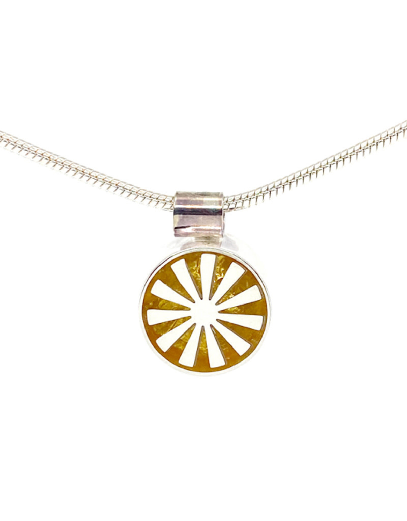 VICTORIA VARGA MINI SPOKE NECKLACE