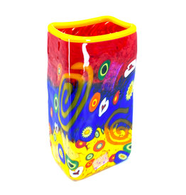MAD ART BABY SWIRL RECTANGLE VASE