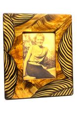 GRANT-NOREN 5X7 ZEBRA PICTURE FRAME