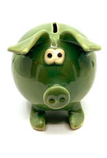 CLAY IN MOTION CERAMIC PIGGY BANK