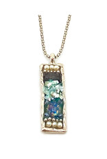 ANGIE OLAMI ROMAN GLASS MOSAIC NECKLACE