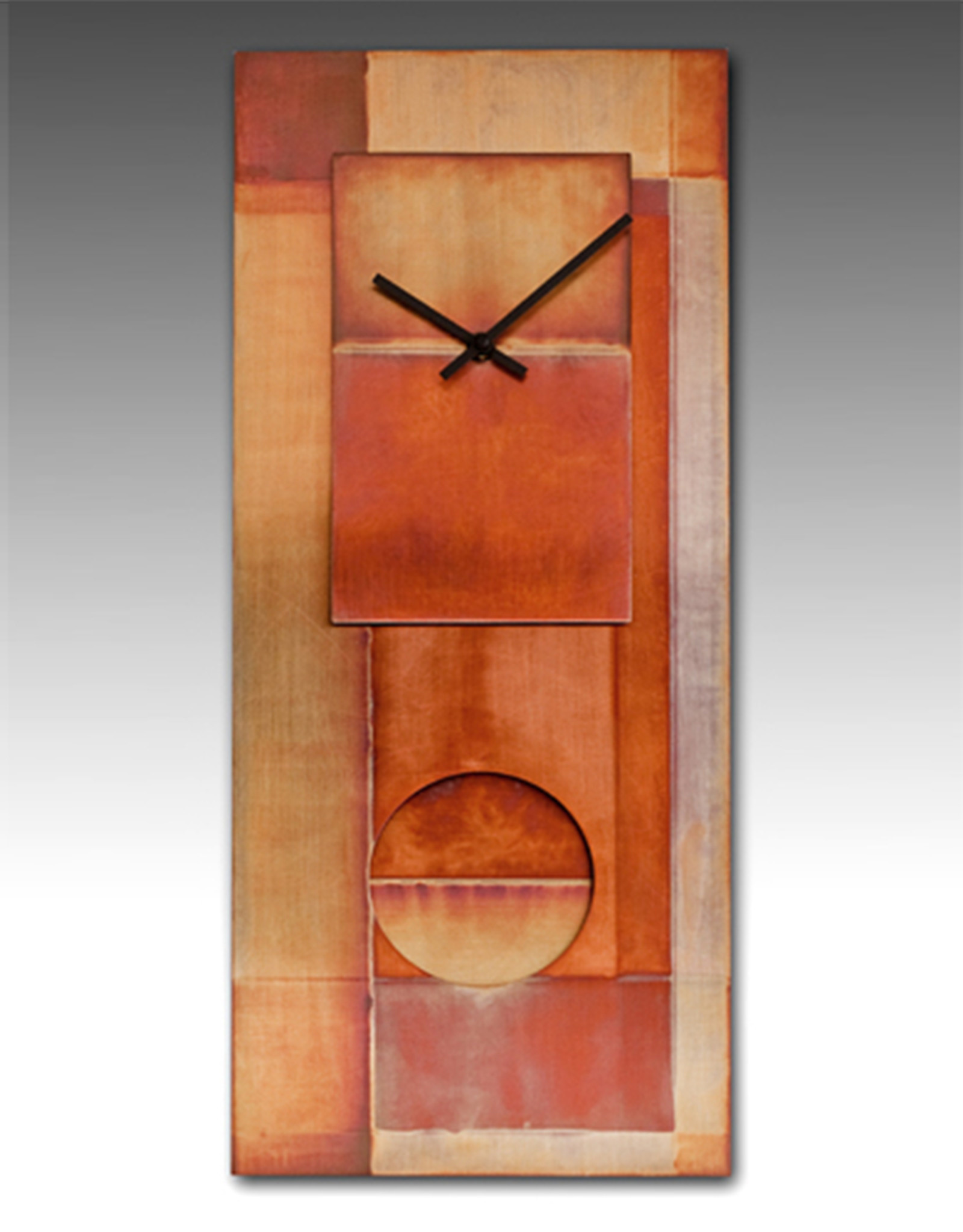 LEONIE LACOUETTE ALL COPPER PENDULUM CLOCK