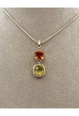 ACLEONI LEMON QUARTZ & CITRINE NECKLACE