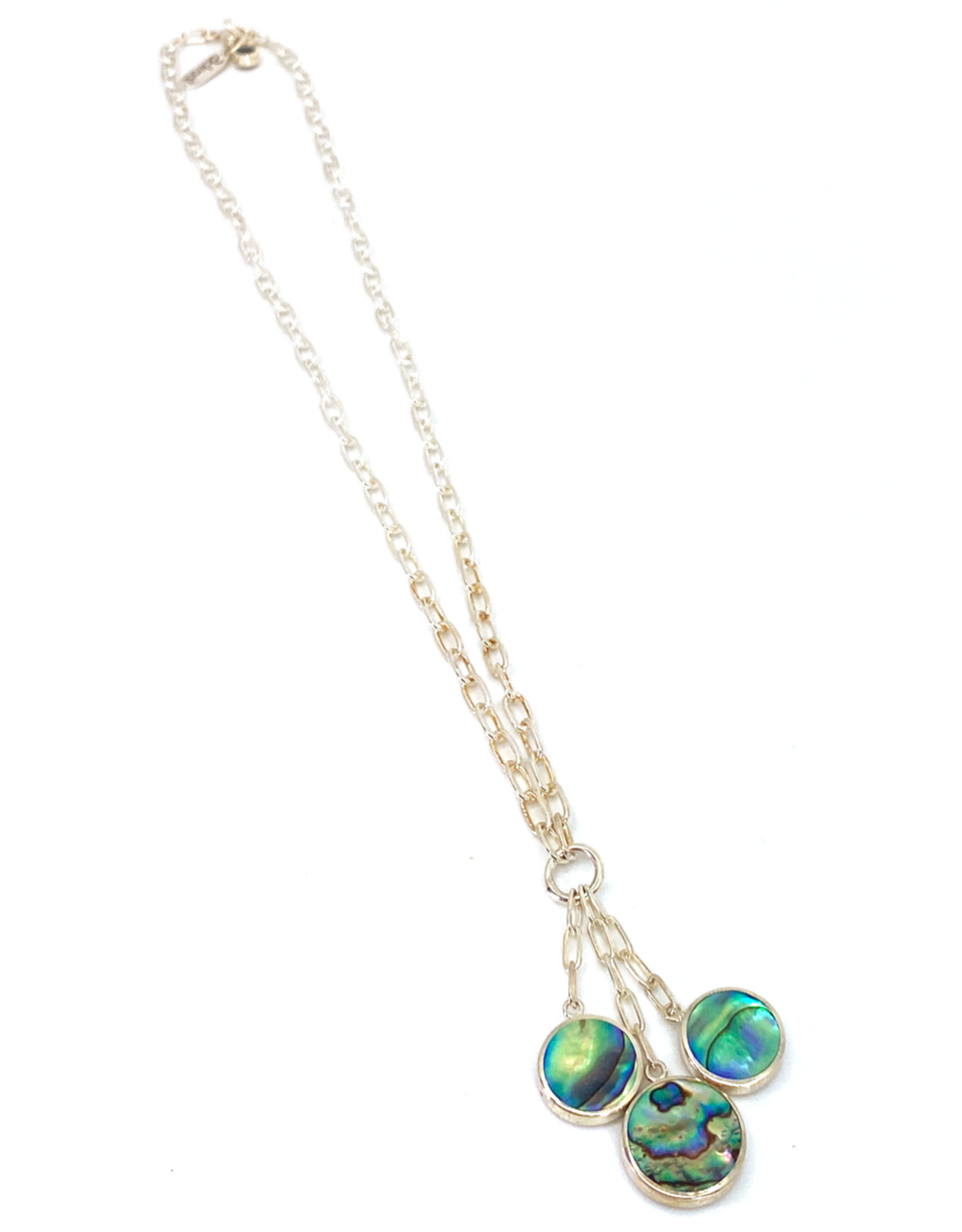ACLEONI ABALONE DROP NECKLACE