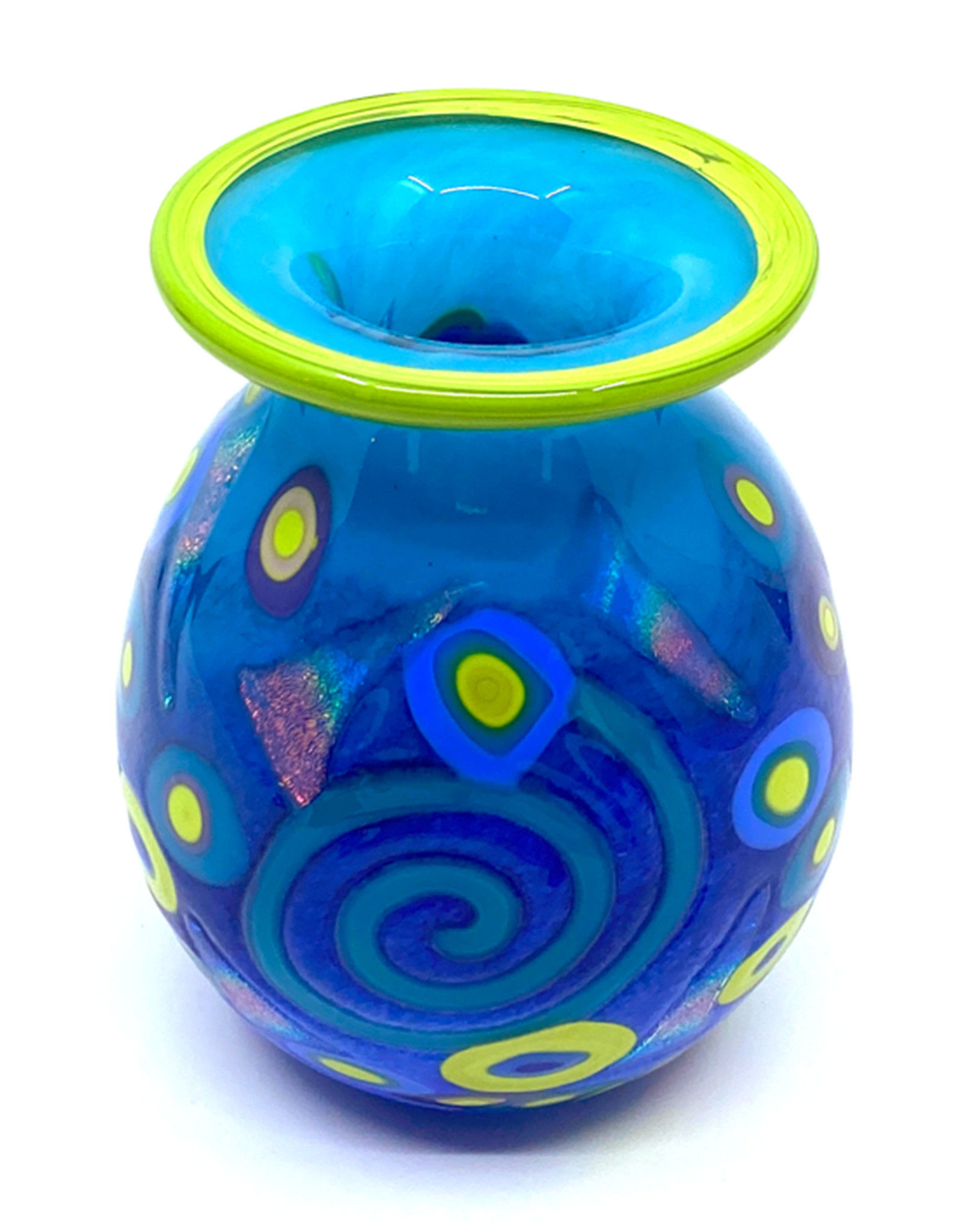 MAD ART PERIWINKLE MINI VASE