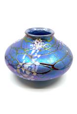 VINES ART GLASS MAGNOLIA SEED POT