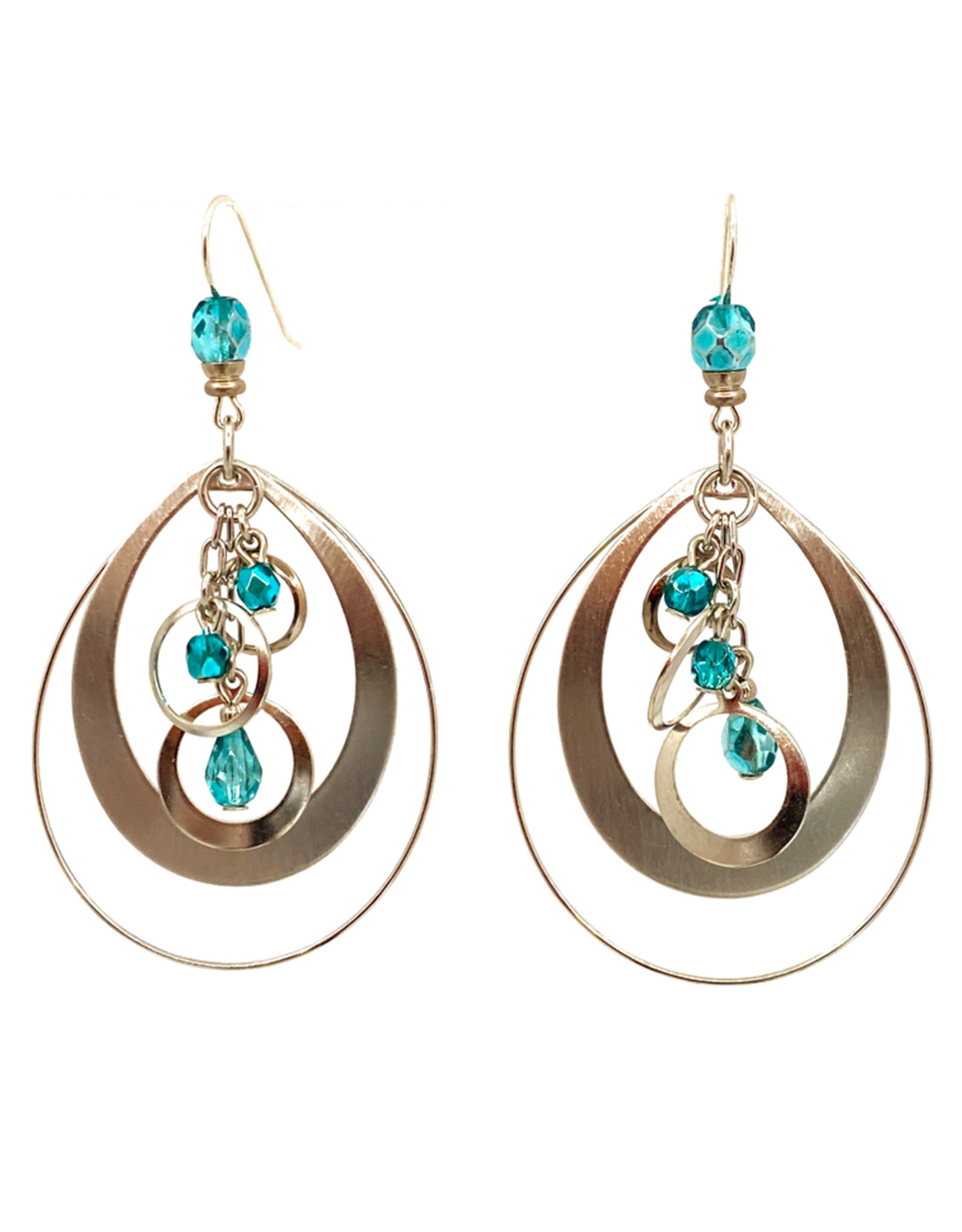 JOHN MICHAEL RICHARDSON PLANETARY ORBS EARRINGS