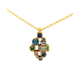 PATRICIA LOCKE ZEPHYR MIDTOWN NECKLACE