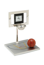 SANIS BASKETBALL HOOP MINIATURE CLOCK