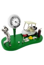 SANIS GOLF CART MINIATURE CLOCK