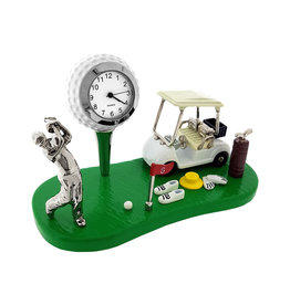 SANIS GOLF CART MINIATURE CLOCK