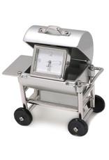 SANIS BBQ GRILL MINIATURE CLOCK