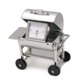 SANIS BBQ GRILL MINIATURE CLOCK