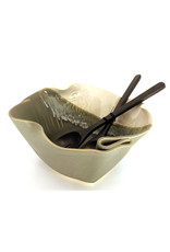 HILBORN POTTERY SERVING BOWL FOR FUNKY FOOD