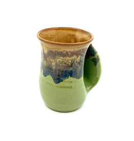CLAY IN MOTION MOUNTAIN MEADOW HANDWARMER MUG