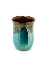 CLAY IN MOTION OCEAN TIDE HANDWARMER MUG
