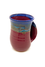 CLAY IN MOTION PURPLE PASSION HANDWARMER MUG