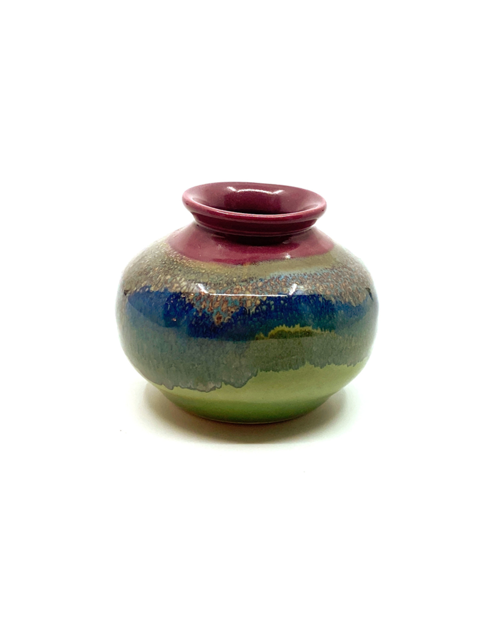 CLAY IN MOTION MOSSY CREEK MINIATURE VASE