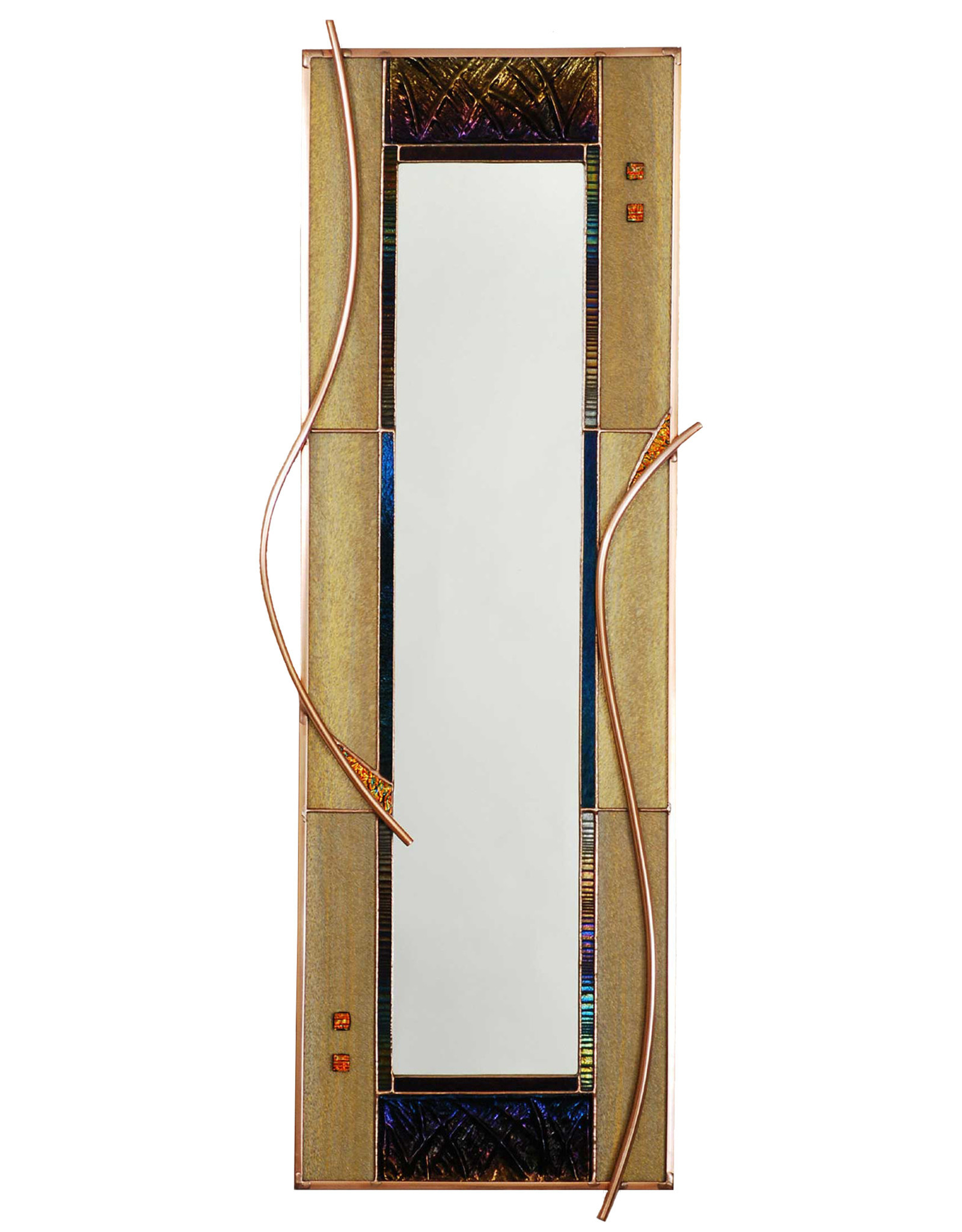 LIGHT IMAGES GLASS PAPYRUS MIRROR