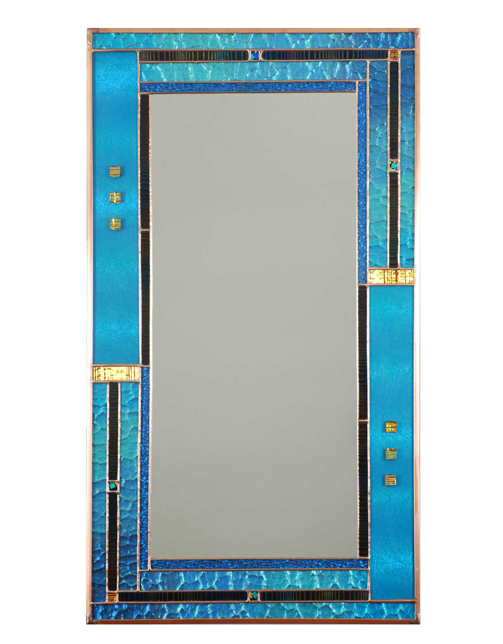 LIGHT IMAGES GLASS VERTICAL TORTOLA MIRROR