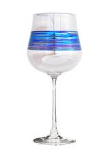 ROMEO GLASS CLEAR RAINBOW SPUN WINE GLASS