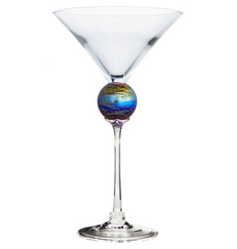 ROMEO GLASS SPIDER PLANET MARTINI GLASS