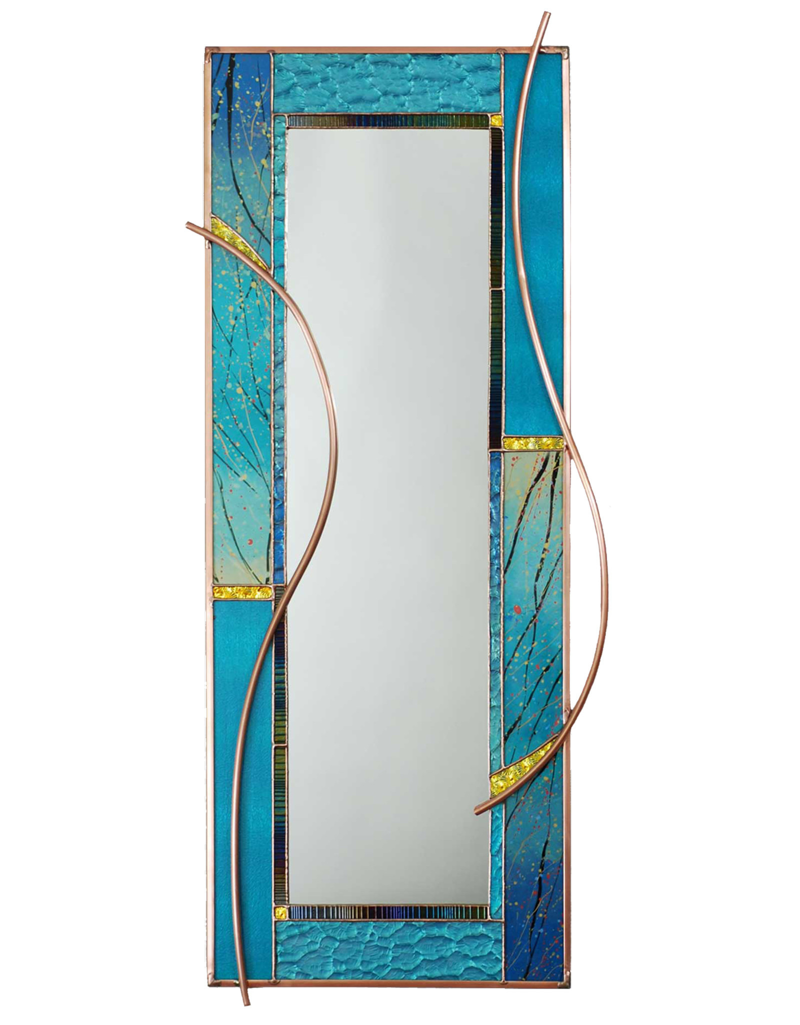 LIGHT IMAGES GLASS SEAGRASS MIRROR