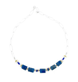 ARLEE KASSELMAN APATITE & BLUE OPAL NECKLACE