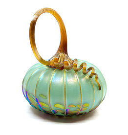 JACK PINE STUDIO CELEDON MEDIUM PUMPKIN
