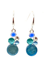 ORIGIN JEWELRY BLUE MULTI-DOT EARRINGS