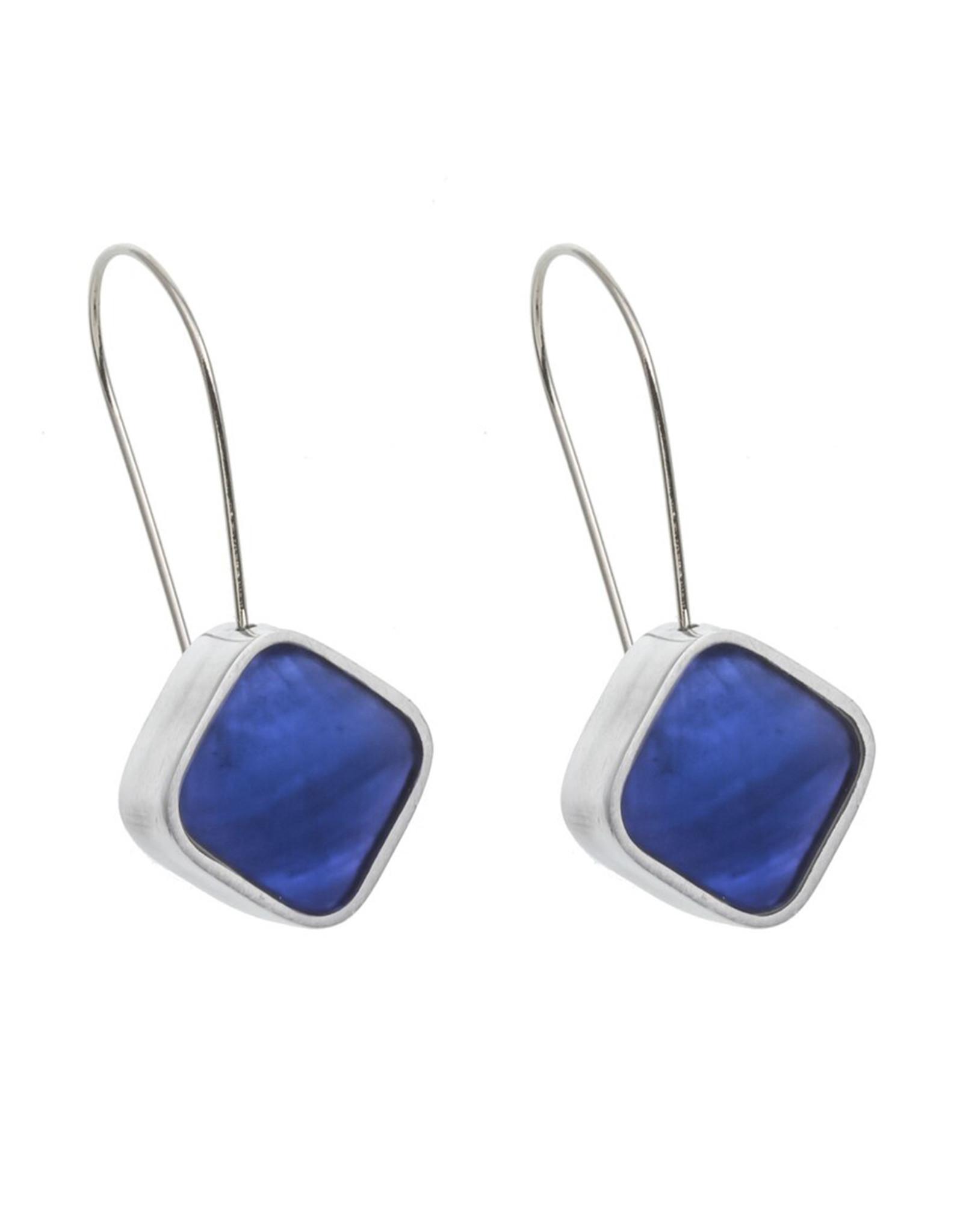 ORIGIN JEWELRY BLUE DIAMOND EARRINGS
