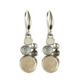 ORIGIN JEWELRY GOLD MULTI-DOT EARRINGS