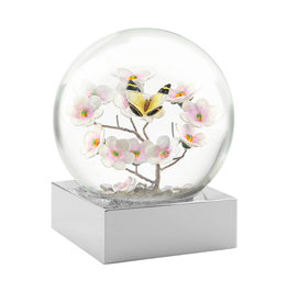 COOL SNOW GLOBES BUTTERFLY ON BRANCH SNOWGLOBE
