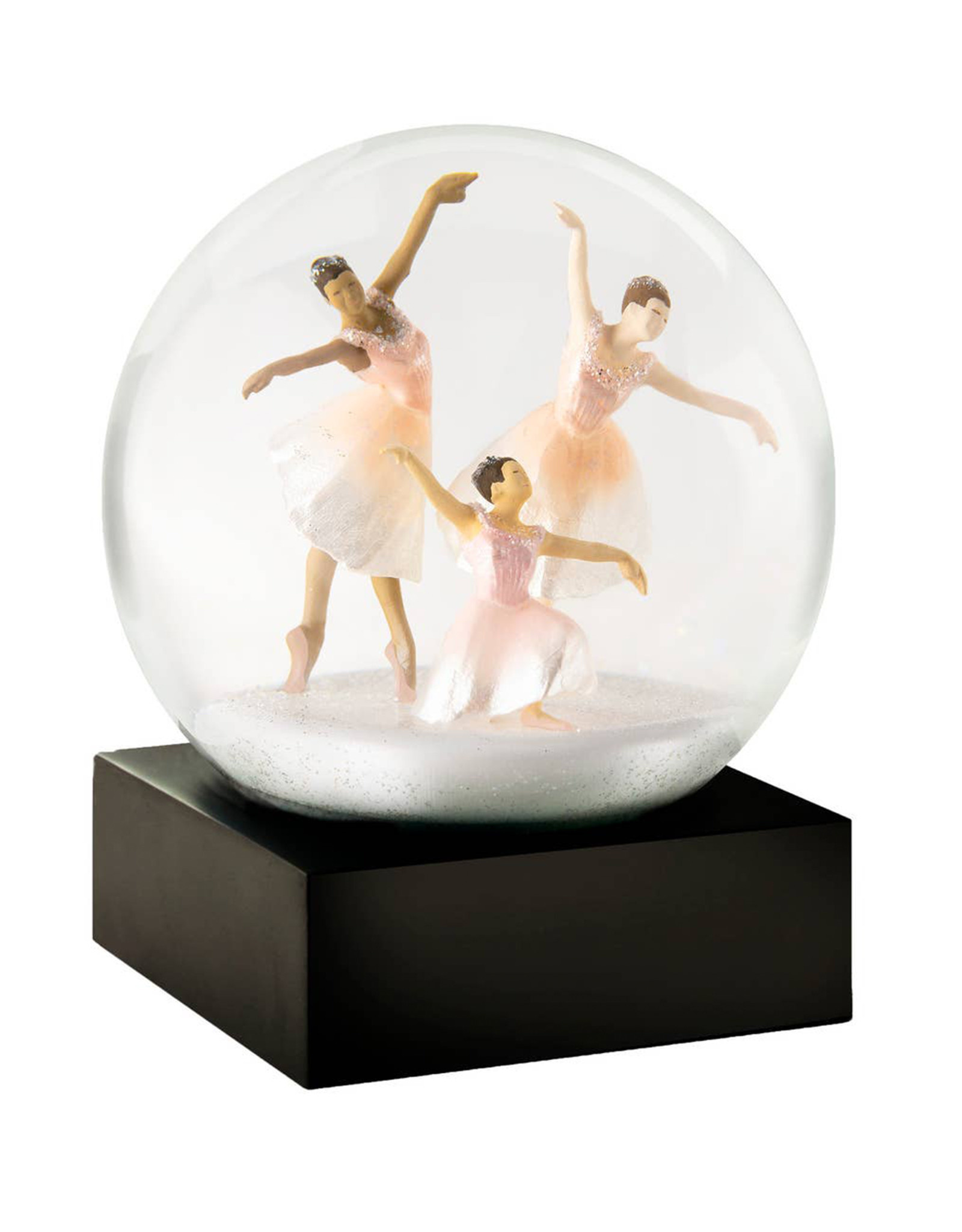 COOL SNOW GLOBES THREE DANCERS SNOWGLOBE