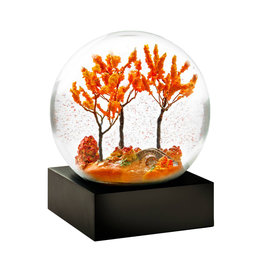 COOL SNOW GLOBES AUTUMN SNOW GLOBE