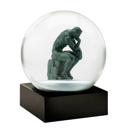 COOL SNOW GLOBES THINKER SNOW GLOBE