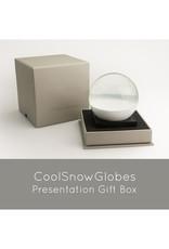 COOL SNOW GLOBES THINKER SNOW GLOBE