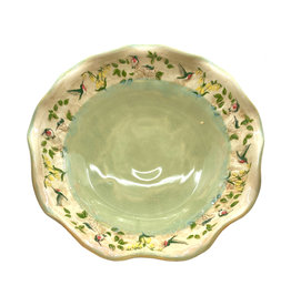 JEN STEIN STUDIO LARGE HUMMINGBIRD BOWL