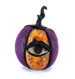 PUMPKIN WITH EYE - PURPLE