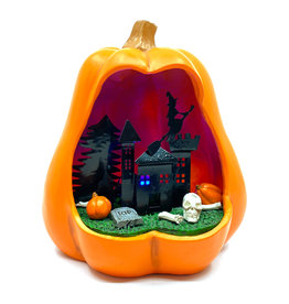 LIGHT UP HALLOWEEN PUMPKIN