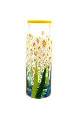 MAD ART CLEAR DAISY SMALL  CYLINDER VASE