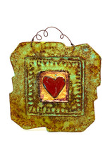PAPER & STONE SINGLE HEART WALL PLAQUE