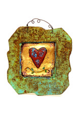 PAPER & STONE ROSIE HEART WALL PLAQUE