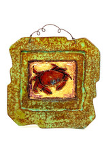 PAPER & STONE SMALL HAPPY CRAB WALL PLAQUE