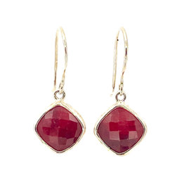 ACLEONI RUBY DROP EARRINGS