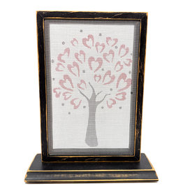 EARRING HOLDER GALLERY HEART TREE EARRING HOLDER WITH BASE