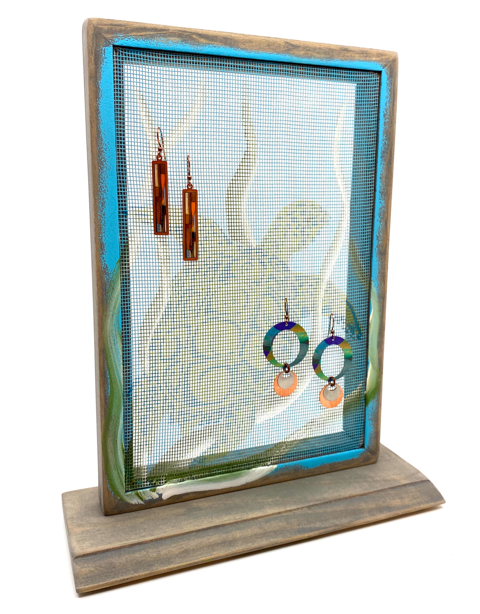 EARRING HOLDER GALLERY SEA TURTLE EARRING HOLDER WITH BASE