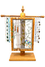 EARRING HOLDER GALLERY BAMBOO JEWELRY TREE